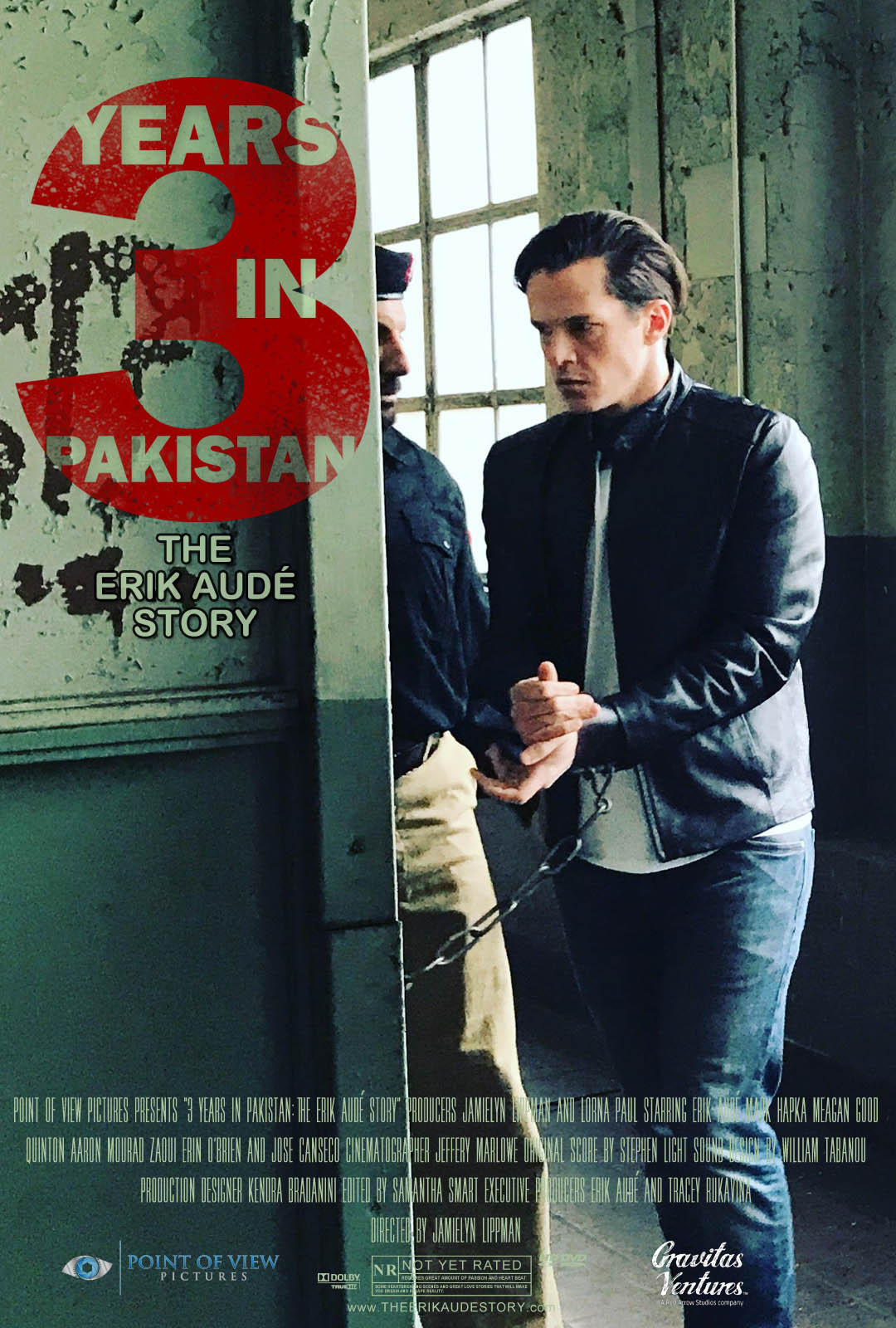 3 Years in Pakistan could not and would not break Erik Audé